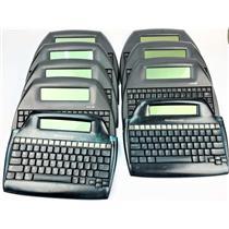 Lot of 7 Alpha Alphaword Neo2 2 AlphaSmart 3000