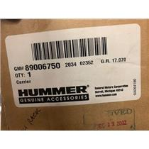 NEW IN BOX GM H2 H3 HUMMER 89006750 Carrier SKI ROOF MOUNT package