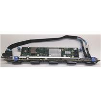 "Dell HRKY6 PowerEdge R630 10-Bay 2.5"" Drive Backplane Expansion w/ Cable/ 5DP9R"