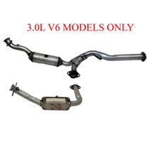 Fits For Ford 07-08 Ranger 3.0L Only Eng. Y Pipe Dual Catalytic Converter Pipe