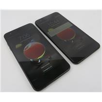 Dealer Lot Of 2 LG LM-X210MA Aristo 2 16GB Black Android Smartphones - Metro PCS