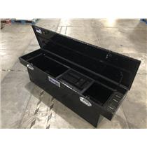 "Better Built 79210987 70"" Black Finish Diamond Aluminum Truck Tool Box"