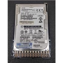 "HP 748385-003 600GB 2.5"" 12Gb/s SAS 15K HDD HUC156060CSS204 w/ Tray"