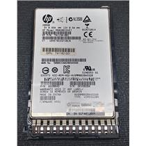 "HP 741162-001 200GB 2.5"" SSD 12Gb/s SAS HUSMM8020ASS200 741134-001 w/ Tray"