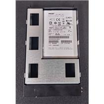 "HGST Hitachi HUSMM8040ASS200 400GB 2.5"" SSD 12Gb/s SAS w/ 3.5"" Isilon Tray"