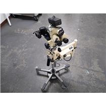 Leisegang 3MS UL Colposcope Medical Microscope 3.75X 7.5X 15X w BUL & B153
