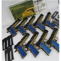 Lot Of 9 Elite Force 1911 TAC 6mm CO2 Blowback AIRSOFT Pistols - SEE DESCRIPTION