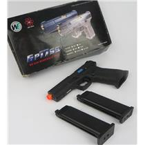 WE-TECH GP1799 T1 Green Gas Black W/ Gold Barrel Blowback AIRSOFT Pistol