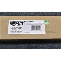 Tripp-Lite PS3612 15-Amp Rack Mount 12 Outlet Power Strip 15-Ft Cord NEW SEALED