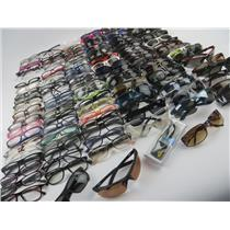 Large Lot Of Fashion Eyeglasses & Sunglasses -Various Brands- 138 Glasses Total
