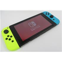 Nintendo Switch Console HAC-001 Sys Ver 10.0.3 W/ Joy-Con Controllers - WORKING
