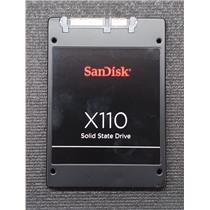 "SanDisk HD X110 2.5"" 6Gb/s SATA 128GB MLC SSD SD6SB1M-128G-1006"