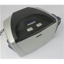 Fargo X001400 044102 DTC400 FD Thermal ID Card Printer - TESTED TO POWER ON ONLY