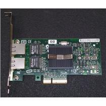 HP NC360T 412648-B21 412651-001 PCI-E Gigabit Dual Port Server NIC High Profile