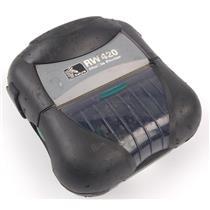 Zebra RW 420 Mobile Rugged Thermal Barcode Label Receipt Printer R4D-0UBA000N-10
