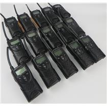 Lot Of 15 Motorola XTN XV1100 1Ch VHF 151-159MHz Business Radios - RADIOS ONLY -