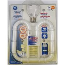 NEW GE F38 2D Compact Fluorescent Light Bulb 150w Super LL Soft White W/Adapter