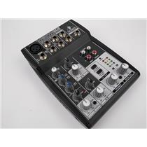 Behringer Xenyx 502 5 Input 2 Bus Mixer Preamp