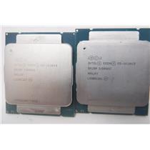 Lot of 2 Intel Xeon E5-1620 V3 3.50GHz Quad Core Socket 2011 CPU Processor SR20P