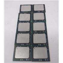 Lot of 10 Intel Xeon E72850/ E7540 Processors