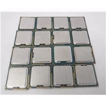 Lot of 16 Intel Xeon E5645/ E5520/E5649/X5677/W3520/ E5-2403/ E5-2420 Processors