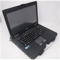 """GETAC S400 Single Touch I5-M520 2.4GHz 4GB RAM NO CADDY/ NO HDD 14"""" Laptop"""