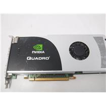NVIDIA Quadro FX 3700 Video Card 512 MB DDR3 D/P N 0KY246 PCIe *TESTED*