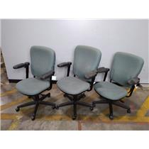 Lot of 3 Turnstone TS Series Office Chairs