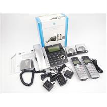AT&T CL84207 DECT 6.0 2-Handset Corded/Cordless Phone Answering System