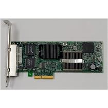Dell Intel PRO/1000 VT Quad Port Network Card H092P PCI-E 4-Port High Profile