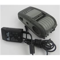 Zebra QL 220 Plus Mobile Thermal Label Printer Q2C-LU1A0000-00 W/ PSU / Charger