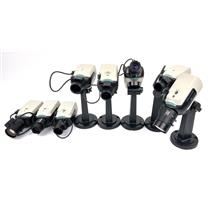 Lot Of 8 Bosch LTC 0455/ 21/20 Day Night Envirodome Security Surveillance Camera