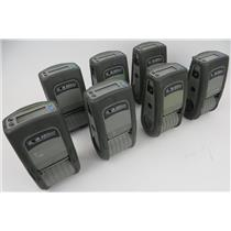 Lot Of 7 Zebra QL 220 Plus Mobile Thermal Label Printers Q2D-LUGA0000-00