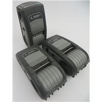 Lot Of 3 Zebra QL 220 Plus Mobile Thermal Label Printers Q2D-LU1A0000-00