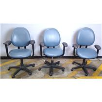 Lot of 2 Steelcase 4535331DSW Office Chair Light Blue - LOCAL PICKUP ONLY