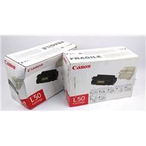 NEW Genuine Canon L50 Toner Cartridge 6812A00192AA PC 1060 Series PC 1080F Black
