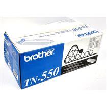 NEW Brother TN-550 Black Toner Cartridge Genuine OEM Factory Sealed