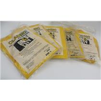 Lot Of 5 NEW River City 200 Series PVC BIB-OVERALL Style No. 200BP Size L