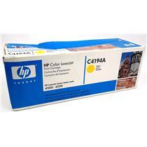 NEW Genuine HP C4194A Yellow Toner Cartridge HP Color Laserjet 4500 4550