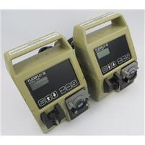Lot Of 2 Ross FLEXIFLO-III Enteral Pump / Feeding Pump - SEE DESCRIPTION