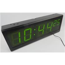 Spectracom TV400W 1145-0001-0600 6-Digit Synchronized TimeView Display Clock