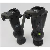 Lot Of 2 Manfrotto Joystick Grip Action Ball Tripod Heads Models 3265 / 222
