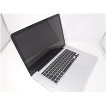 Apple MacBook Pro A1286 Mid 2009 15' w/ Core 2 Duo P8700 2.53 GHz 250 GB HDD 8GB