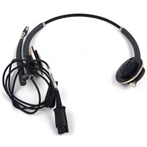 Plantronics Encore Pro HW720  Binaural On Ear Headset TESTED & WORKING