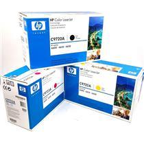 NEW Genuine HP C9720A C9722A C9723A Cartridges HP Color Laserjet 4600 4610 4650