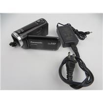 Panasonic HC-V100M 34x Optical Zoom 16GB Internal Storage HD Camcorder - WORKING