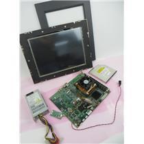 PCM-9683 1GB Ram 2.8GHz CPU Industrial Motherboard Rev 1 PSU Elo Display & MORE