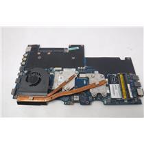 Alienware M14xR1 Laptop motherboard LA-6801P w /i7-2630 QM 2.0 GHz