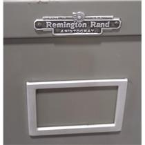 Remington Rand Aristocrat Green 5 Drawer Lateral Metal Cabinet - PICKUP ONLY