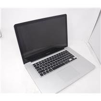 Apple MacBook Pro A1286 Late 2011 15.4' w/i7 2675QM 2.2 GHz 250 GB HDD 4GB RAM